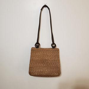 St John's Bay Straw Shoulder Bag